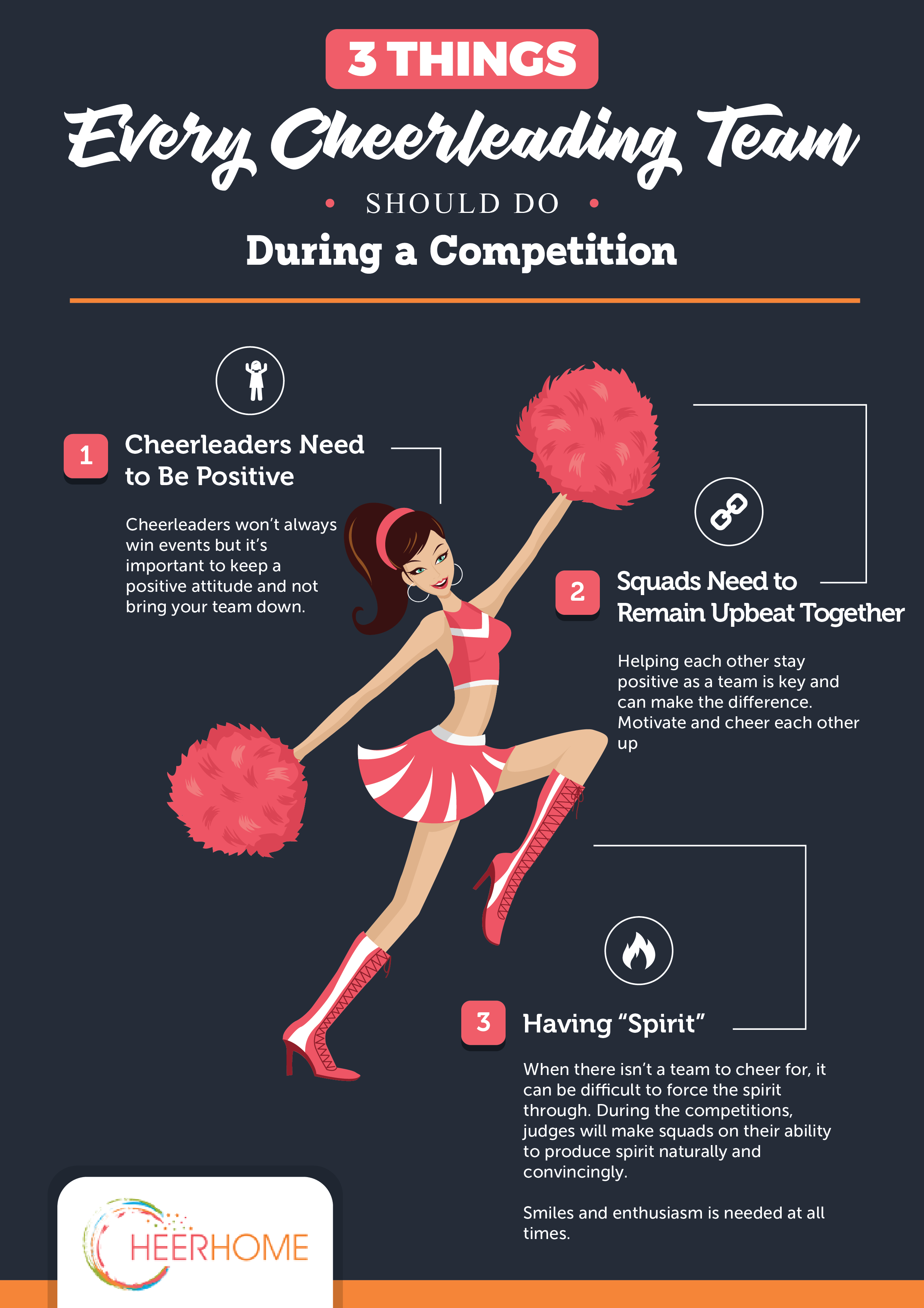 Top 3 Things Every Cheerleading Team Should Do During Competition